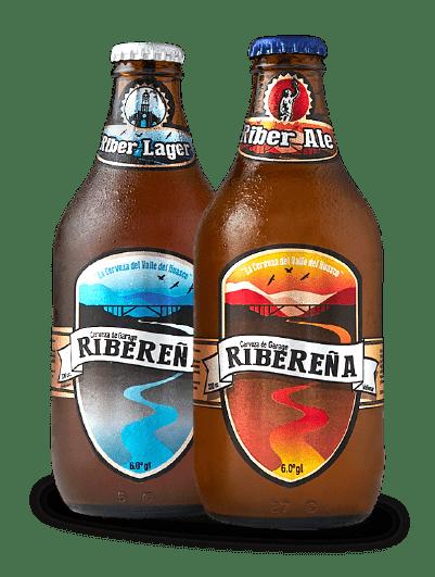 Cerveza Artesanal Riber Lager